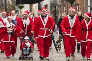 Santa Run in Schagen